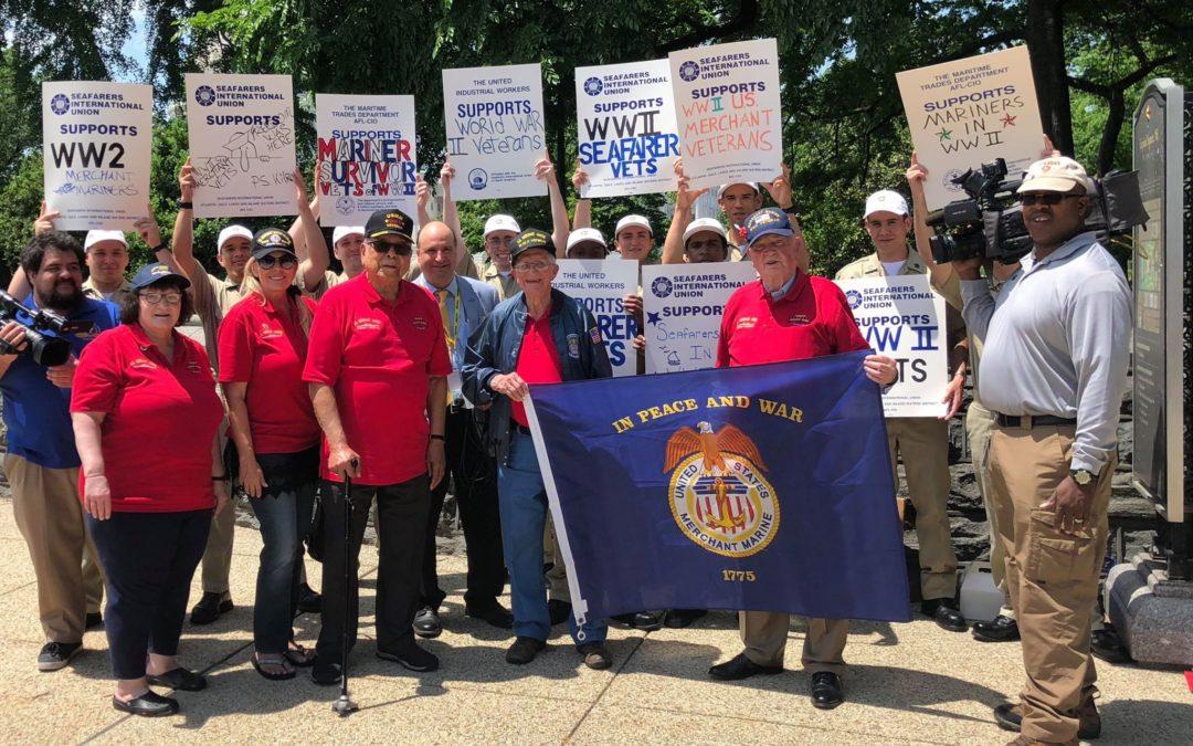 American Maritime Industry Rallies to Support WWII Merchant Marine Legislation