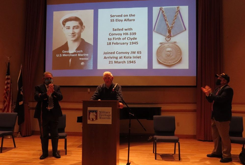 AMMV member George Koch honored at local ceremony