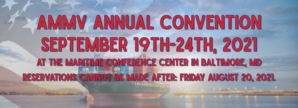 AMMV Annual Convention September 2021