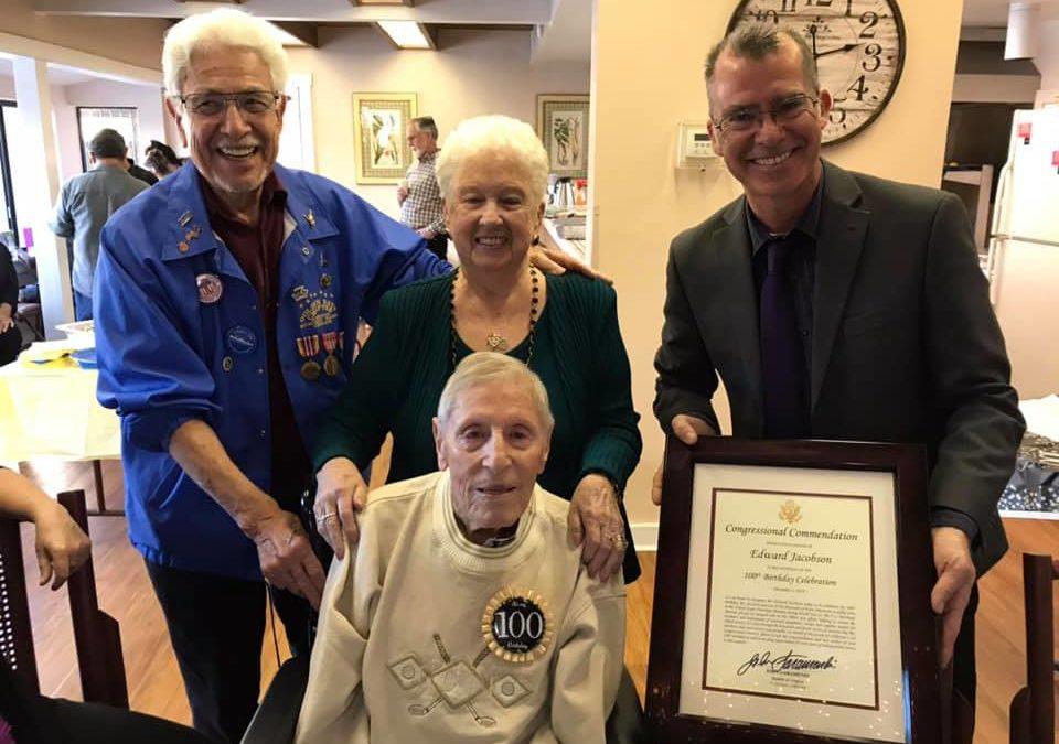 AMMV Vice President Yuhas fights for WWII Merchant Mariner legislation
